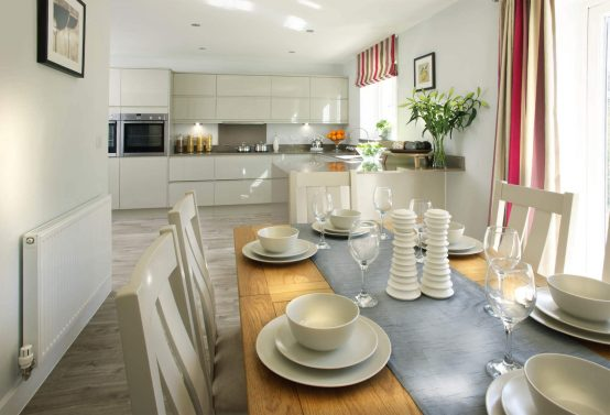 Westaway Reach Showhome Dining Area
