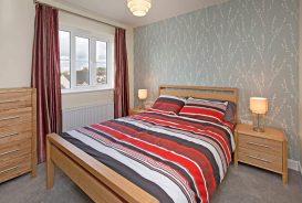 Kilnwood Showhome Bedroom