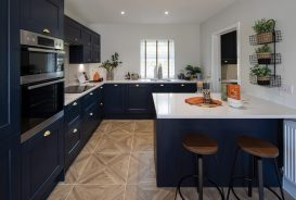 Longston Cross Bovey Tracey Show Home Kitchen