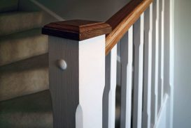 Westaway Reach Showhome Stairs