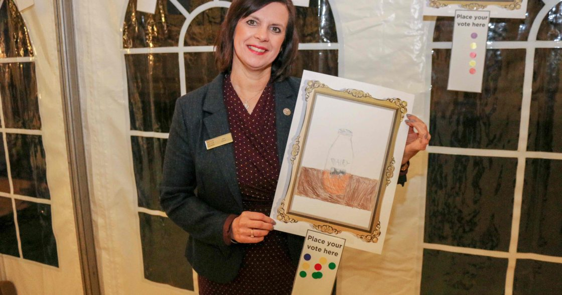 Jane Pearce With Winning Picture
