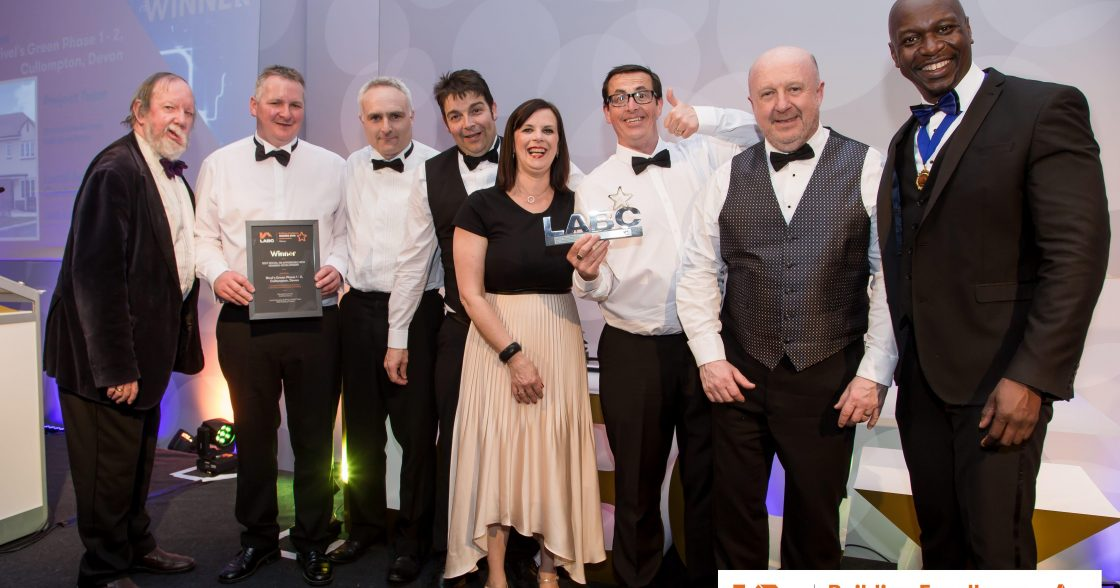 The Devonshire Homes Team Receiving Award Min