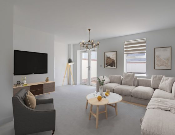 Hartland Living Room Furnished Small