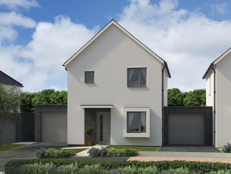 Gwallon Keas St Austell New Build Home Main Par